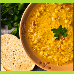 Recipe - Dal and Vegetable Soup